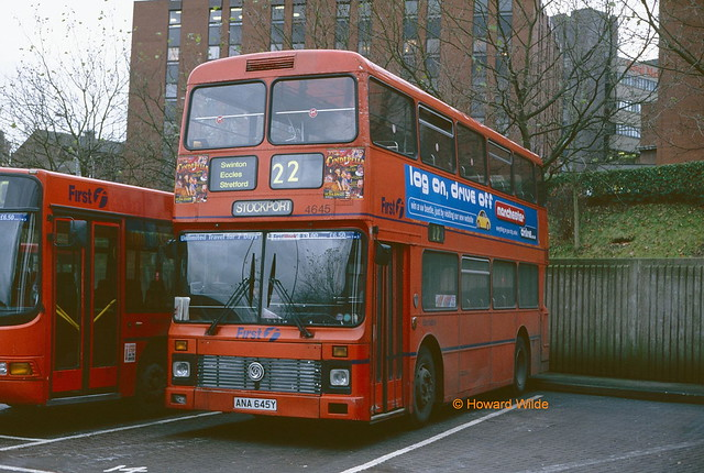 First Manchester 4645 (ANA 645Y)