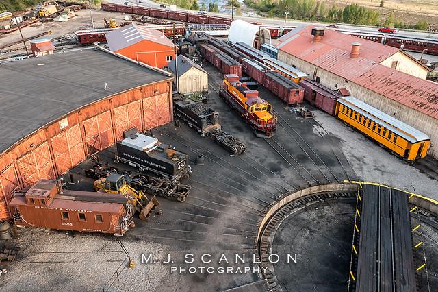 D&SNGRR 0505 | Caboose | D&SNGRR Yard