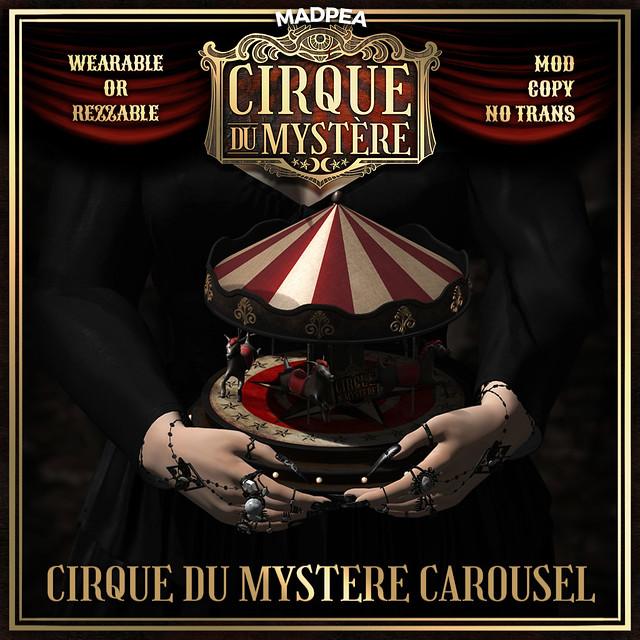 Cirque du Mystére Prize Reveal - MadPea