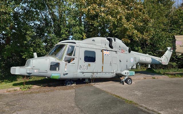 XZ726   Westland Lynx HMA8SRU   Royal Navy   Torpoint   Cornwall