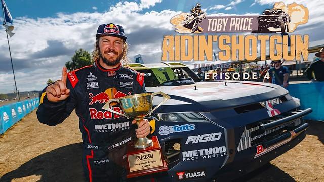FINKE DESERT RACE 2021 4x4: Toby Price must finish on Shotgun / Toby Price muss auf Shotgun das Ziel erreichen – Episode 4!