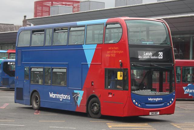 Warrington's Own Buses 316 (SN11 BRF)