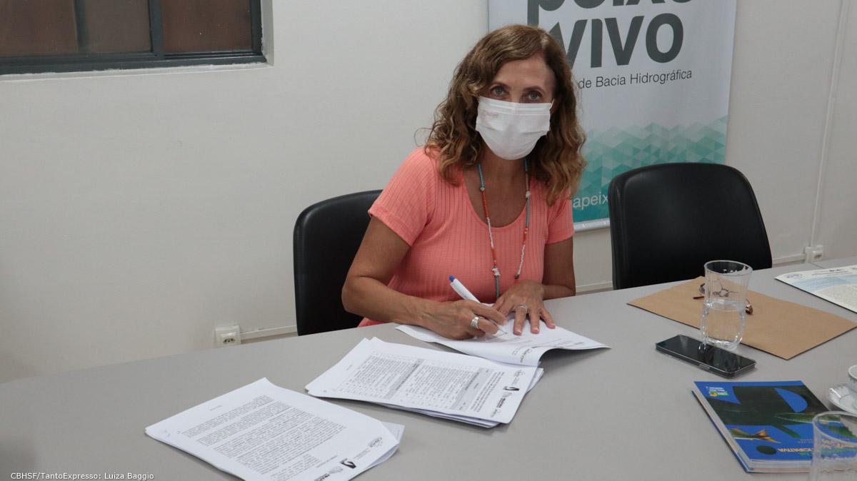 Assinatura Doação Captaçao Pirapora - Belo Horizonte - 15 out 2021