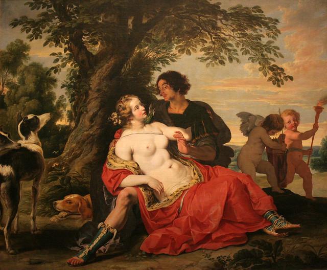 Venus and Adonis (around 1620)