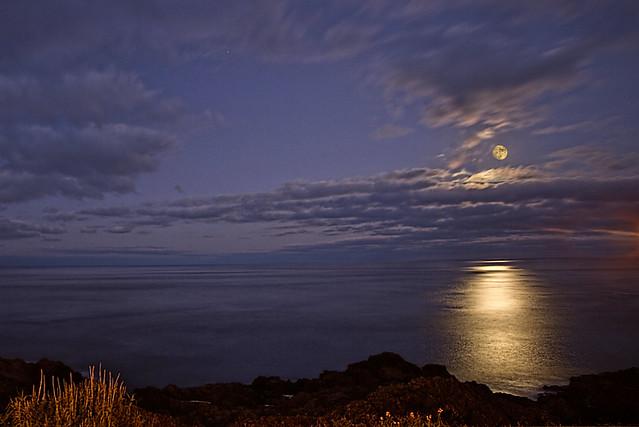 Moonlight in Azores
