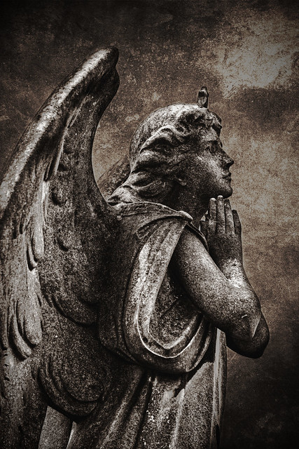 Angels can fly because they carry no burdens...Eileen Elias Freeman