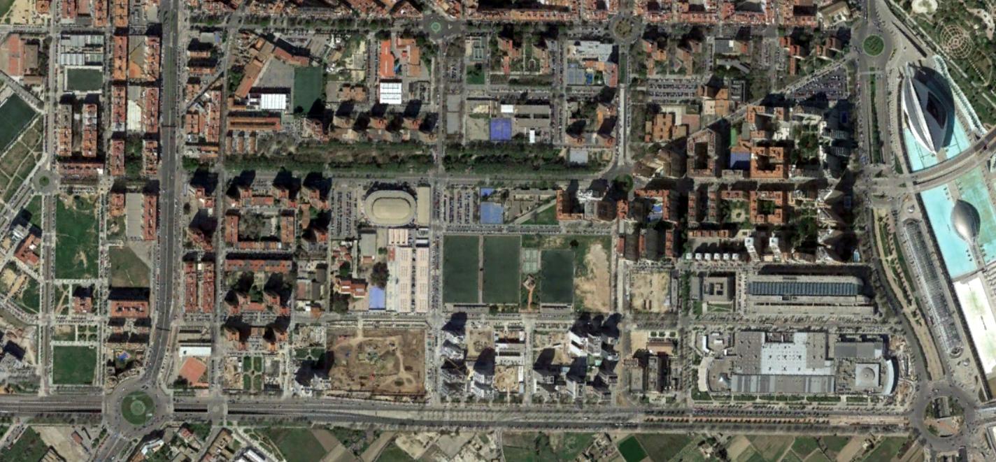 quatre carreres, valencia, el cuatroca valenciá, después, urbanismo, planeamiento, urbano, desastre, urbanístico, construcción, rotondas, carretera