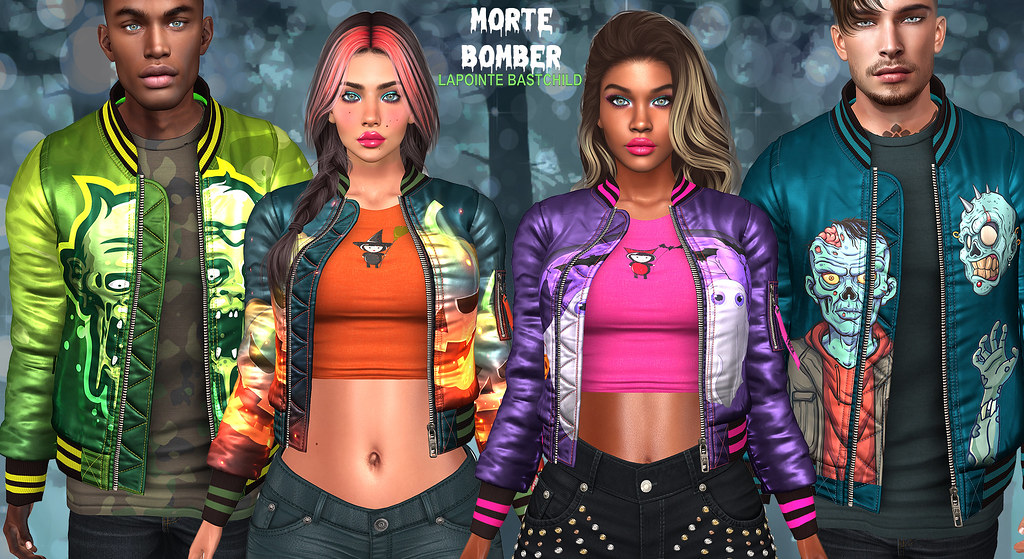 L&B Swear Morte Bomber Jackets – Available NOW!