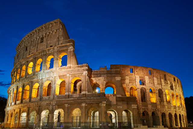 Early morning Colosseo