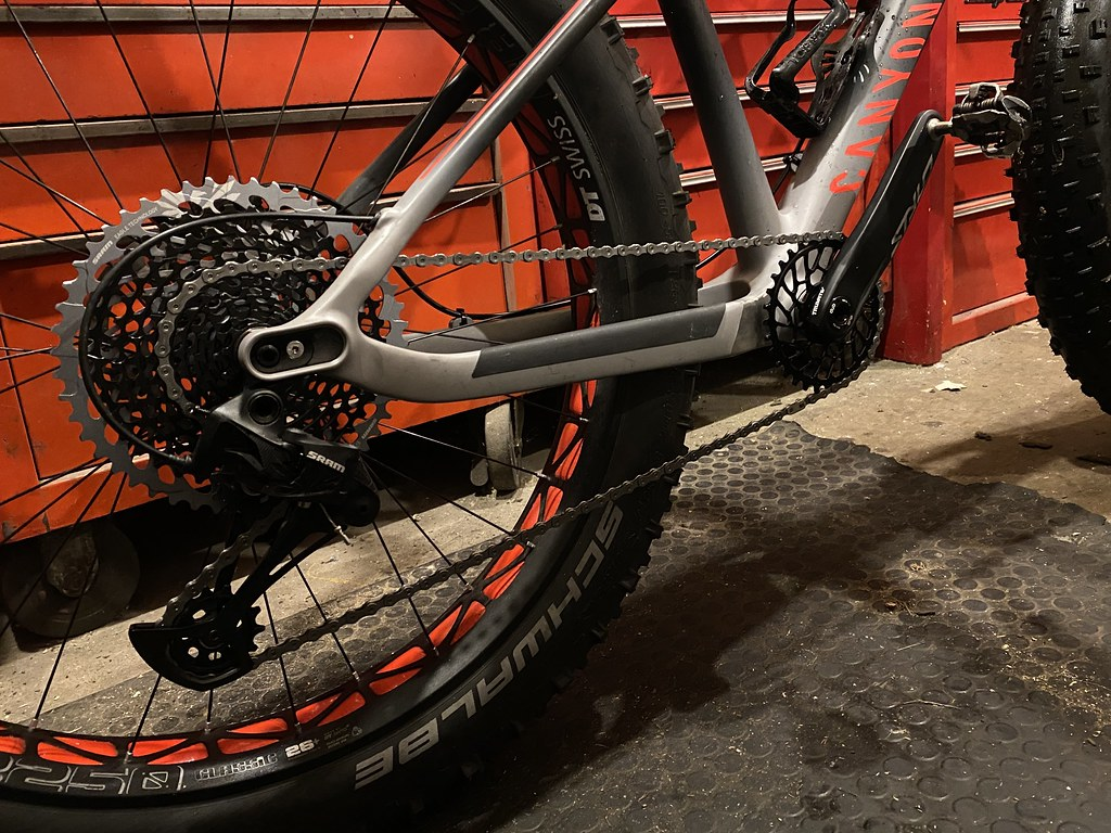 Superboosted chainring and a bigger gear