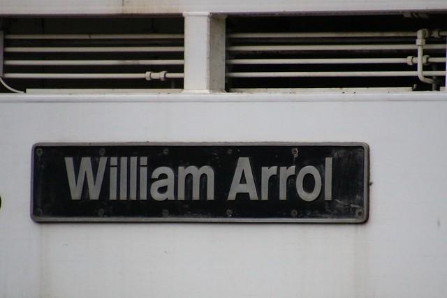 STOCK 73915 naeplate photo 'William Arrol', Crianlarich 20211018