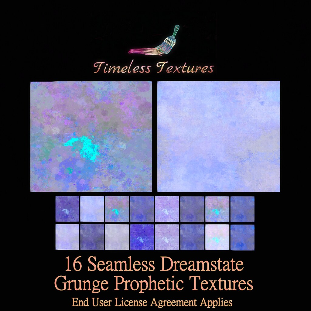 TT 16 Seamless Dreamstate Grunge Prophetic Timeless Textures