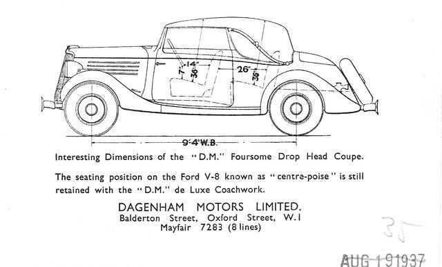 1935 D.M. Foursome Drop Head Coupe