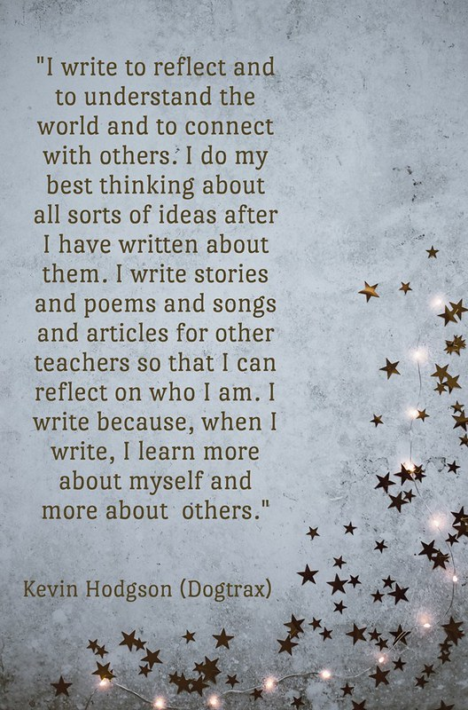 Why I Write Quote