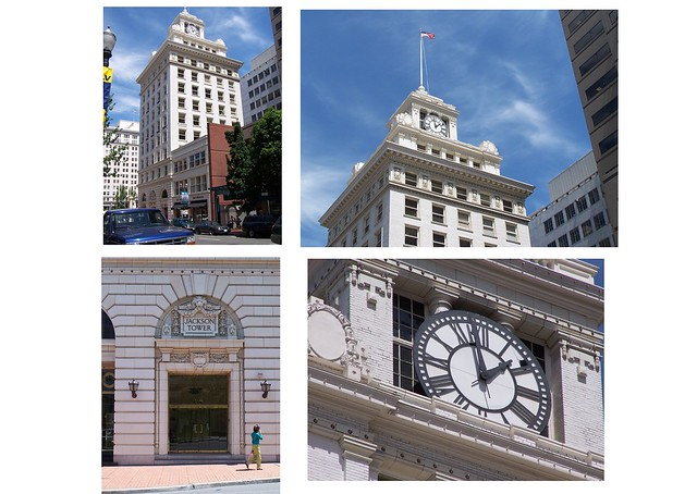 Portland Oregon ~ Jackson Tower ~  The Oregon Journal Building  ~ Historic