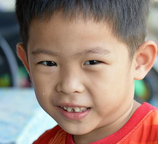 gap tooth boy