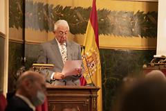 Pedro García Barreno, académico de la RAE