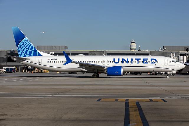 N37527 - Boeing 737-MAX 9 - United - KATL - Oct 2021