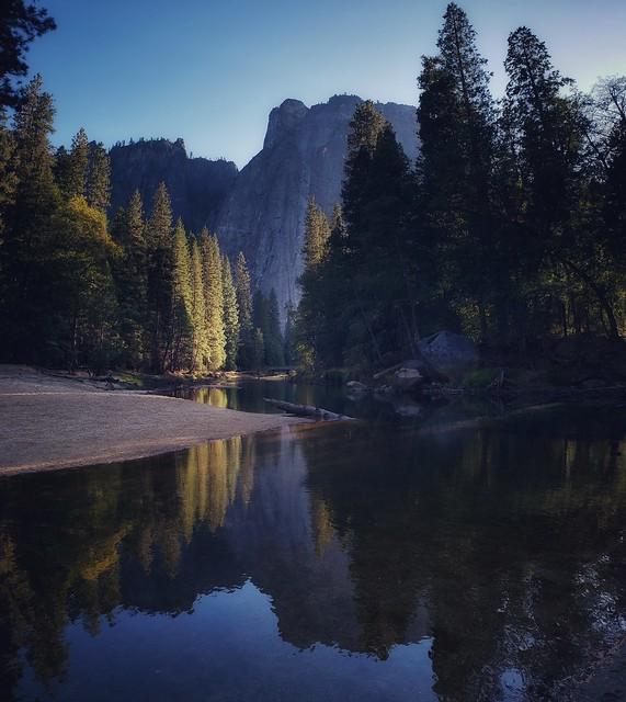From El Capitan meadow at Yosemite