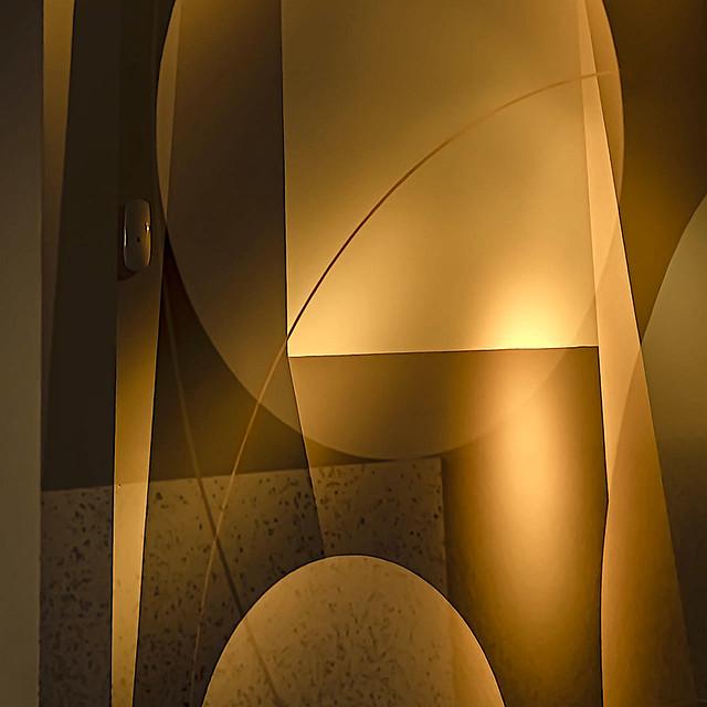 Creative multi-exposure, in-camera geometric interior capture by Nolan H. Rhodes - plate no.1 of 2