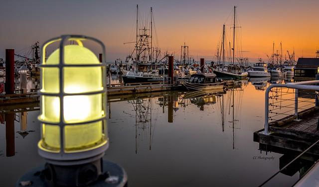 Nautical Beacon - Steveston Harbour