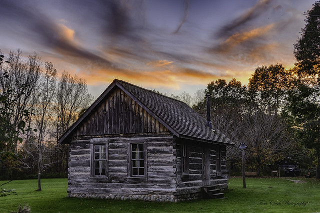 the old schoolhouse at Chippewa Nature Center - Midland, Michigan