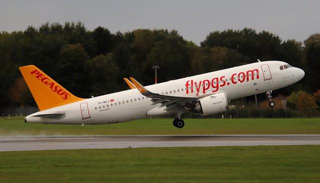 Pegasus Airlines, TC-NCJ,MSN 9307,Airbus A320-251N, 11.10.2021, HAM-EDDH, Hamburg