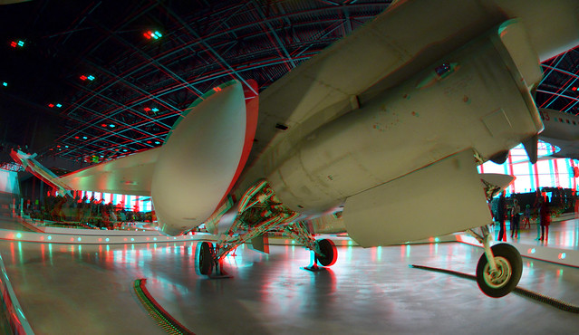 Aircraft National Military Museum Soest 3D Fish-eye