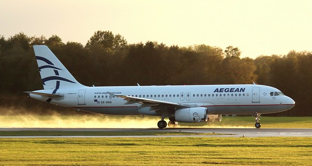 Aegean Airlines, SX-DGN,MSN 2828,Airbus A320-232, 11.10.2021, HAM-EDDH, Hamburg