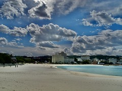 la Shirarahama Spiaggia, la spiaggia di sabbie bianche