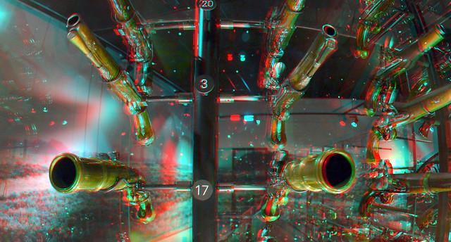 Old guns NMM Soest 3D fish-eye