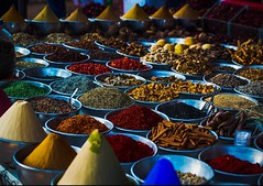 World of colors, Spice Market at Cairo, Egypt