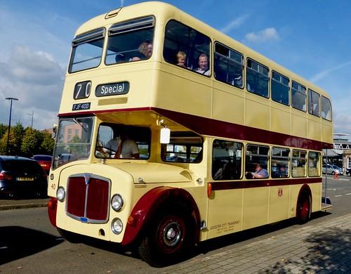 FJF 40D 'Leicester City Transport' No. 40. AEC Renown / East Lancs /1 on Dennis Basford's railsroadsrunways.blogspot.co.uk'