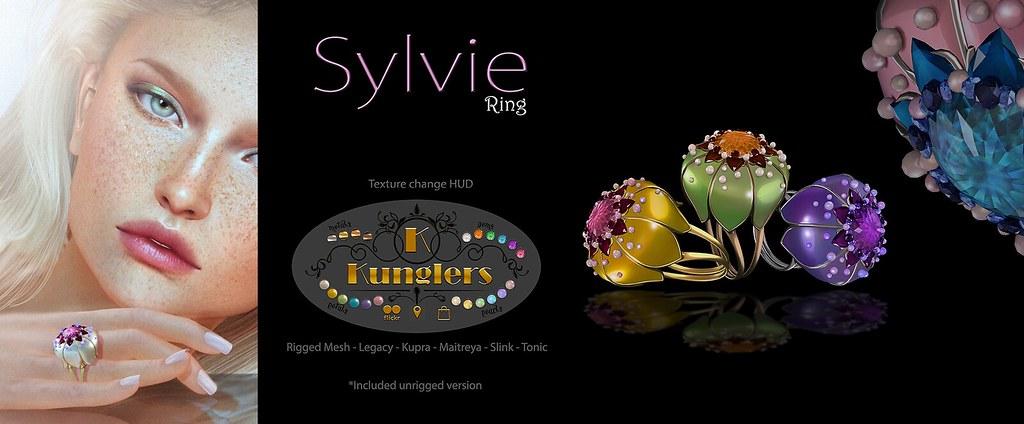 KUNGLERS Sylvie ring