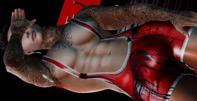 .::4BIDDEN::. Otter Wrestling Singlet