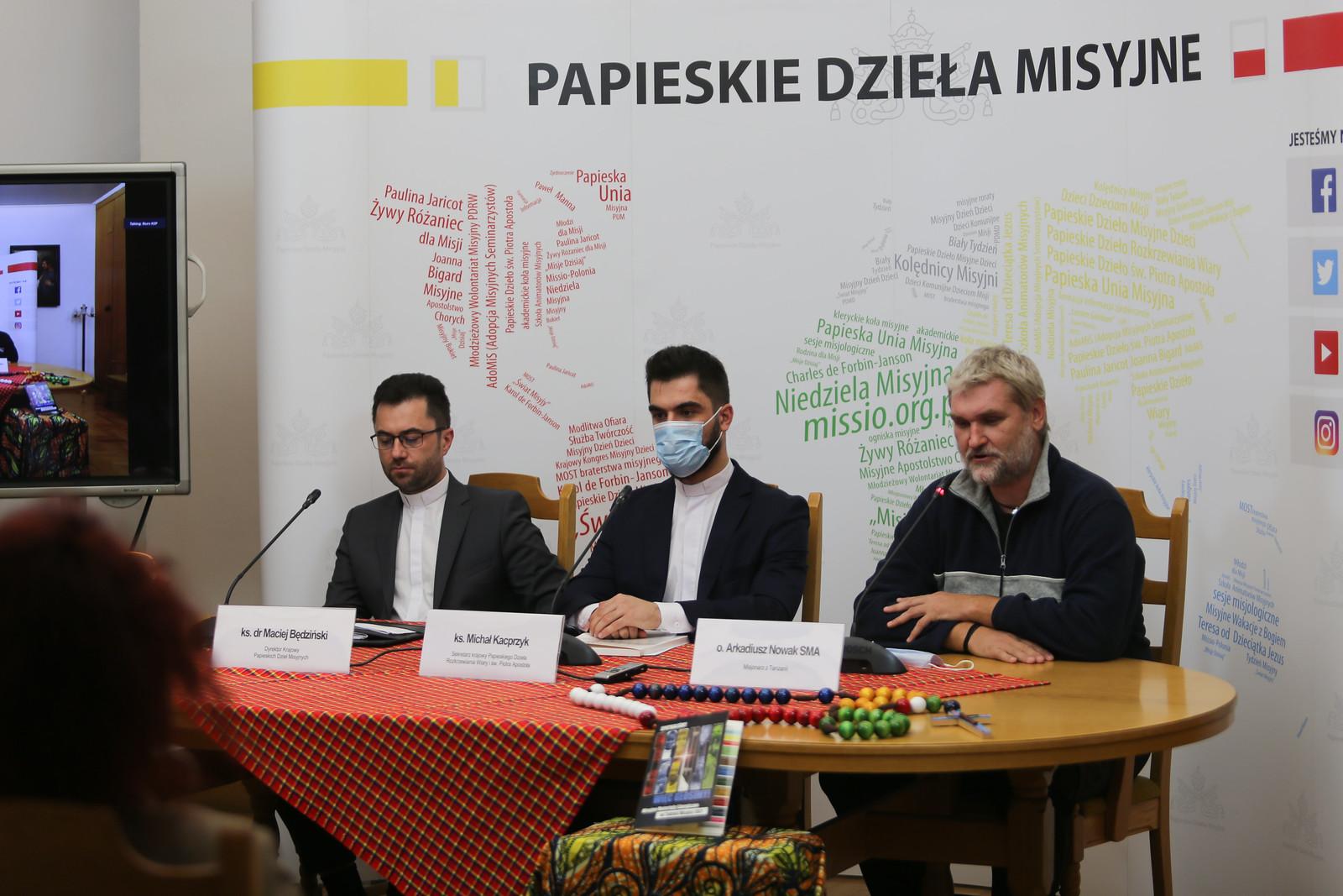 Konferencja Prasowa przed Światowym Dniem Misyjnym - 20 października 2021 r.