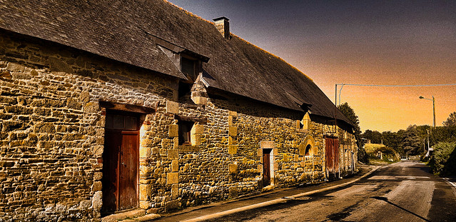 Ferme bretonne.