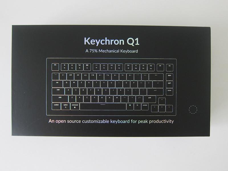 Keychron Q1 - Box Front