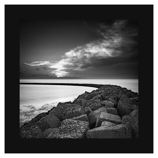 Dawn at the North Sea