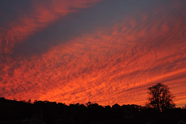 'Tonight's Spectacular Evening Sky' - Betws yn Rhos, North Wales   In Explore - 21.10.2021   - Thank you all!!