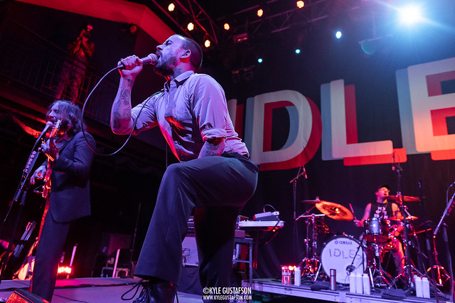 IDLES perform at the 9:30 Club in Washington, D.C.