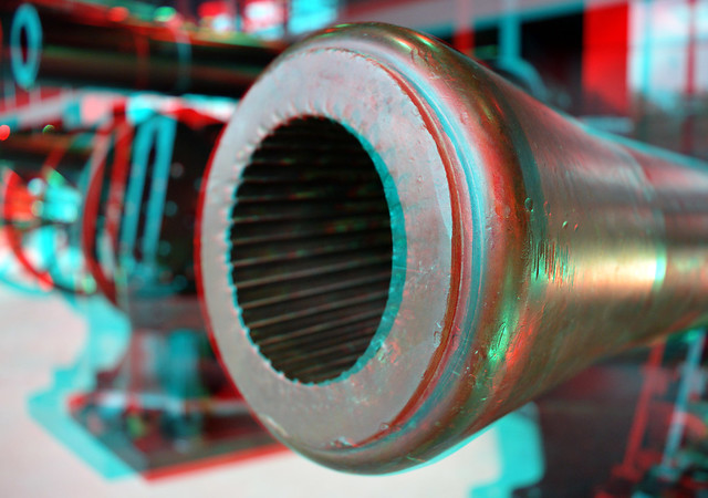 Cannon  National Military Museum Soest 3D
