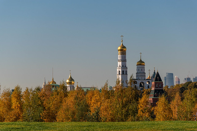 Golden. Autumn and Domes :)