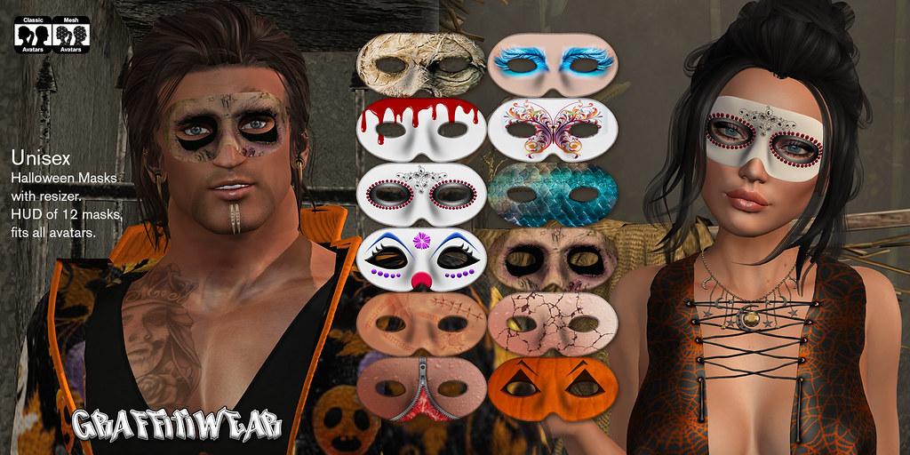 Halloween Masks Ad