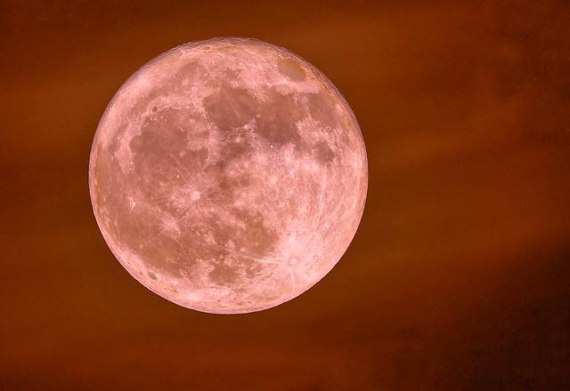 Hunter's moon, 20 October 2021