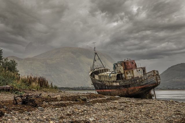 The Old Boat of Caol