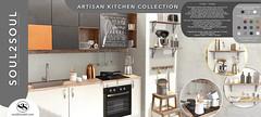 Soul2Soul. Artisan Kitchen Collection at Shiny Shabby event