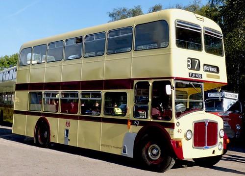 FJF 40D 'Leicester City Transport' No. 40. AEC Renown / East Lancs /2 on Dennis Basford's railsroadsrunways.blogspot.co.uk'