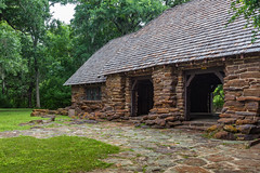 Pavilion Built by CCC in Palmetto State Park