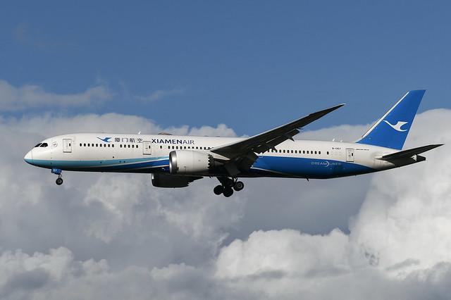 B-1357 Boeing B787-9 EGLL 20-10-21